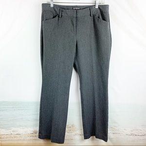 Express Editor Pants Gray Size 10 Short